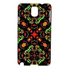 Intense Floral Refined Art Print Samsung Galaxy Note 3 N9005 Hardshell Case