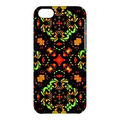 Intense Floral Refined Art Print Apple iPhone 5C Hardshell Case