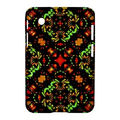 Intense Floral Refined Art Print Samsung Galaxy Tab 2 (7 ) P3100 Hardshell Case
