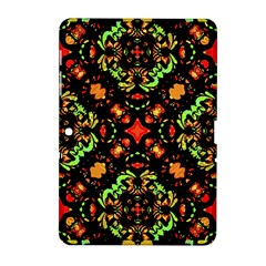 Intense Floral Refined Art Print Samsung Galaxy Tab 2 (10.1 ) P5100 Hardshell Case
