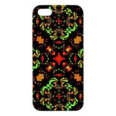Intense Floral Refined Art Print Iphone 5s Premium Hardshell Case