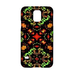 Intense Floral Refined Art Print Samsung Galaxy S5 Hardshell Case