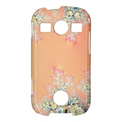 Peach Spring Frost On Flowers Fractal Samsung Galaxy S7710 Xcover 2 Hardshell Case