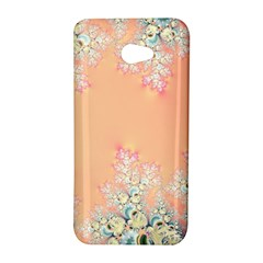 Peach Spring Frost On Flowers Fractal HTC Butterfly S Hardshell Case