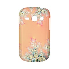 Peach Spring Frost On Flowers Fractal Samsung Galaxy S6810 Hardshell Case