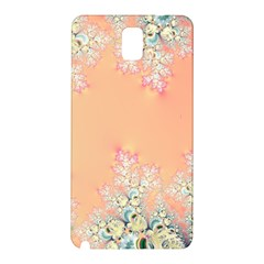 Peach Spring Frost On Flowers Fractal Samsung Galaxy Note 3 N9005 Hardshell Back Case