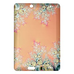 Peach Spring Frost On Flowers Fractal Kindle Fire HD 7  (2nd Gen) Hardshell Case