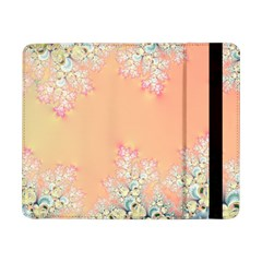 Peach Spring Frost On Flowers Fractal Samsung Galaxy Tab Pro 8 4  Flip Case