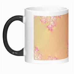 Peach Spring Frost On Flowers Fractal Morph Mug