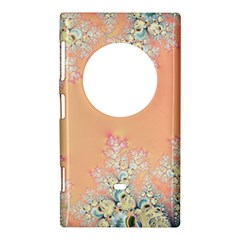 Peach Spring Frost On Flowers Fractal Nokia Lumia 1020 Hardshell Case