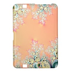 Peach Spring Frost On Flowers Fractal Kindle Fire HD 8.9  Hardshell Case