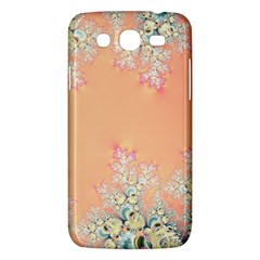Peach Spring Frost On Flowers Fractal Samsung Galaxy Mega 5 8 I9152 Hardshell Case