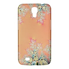Peach Spring Frost On Flowers Fractal Samsung Galaxy Mega 6 3  I9200 Hardshell Case