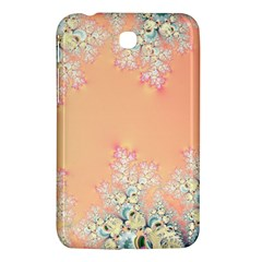 Peach Spring Frost On Flowers Fractal Samsung Galaxy Tab 3 (7 ) P3200 Hardshell Case