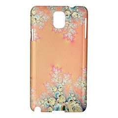 Peach Spring Frost On Flowers Fractal Samsung Galaxy Note 3 N9005 Hardshell Case