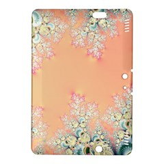 Peach Spring Frost On Flowers Fractal Kindle Fire Hdx 8 9  Hardshell Case