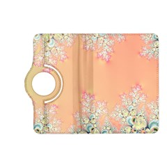 Peach Spring Frost On Flowers Fractal Kindle Fire HD 7  (2nd Gen) Flip 360 Case