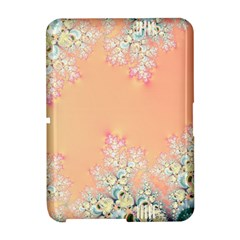 Peach Spring Frost On Flowers Fractal Kindle Fire (2nd Gen 2013) Hardshell Case