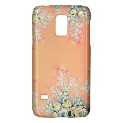 Peach Spring Frost On Flowers Fractal Samsung Galaxy S5 Mini Hardshell Case