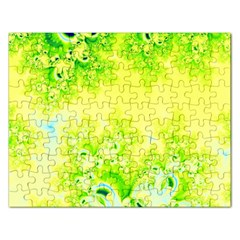 Sunny Spring Frost Fractal Jigsaw Puzzle (rectangle)