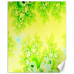 Sunny Spring Frost Fractal Canvas 16  x 20  (Unframed)