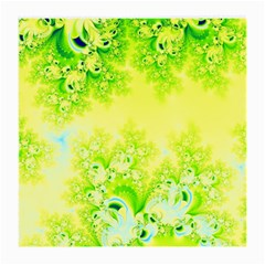 Sunny Spring Frost Fractal Glasses Cloth (Medium, Two Sided)