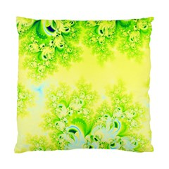 Sunny Spring Frost Fractal Cushion Case (single Sided)