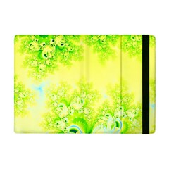 Sunny Spring Frost Fractal Apple Ipad Mini Flip Case