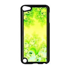 Sunny Spring Frost Fractal Apple iPod Touch 5 Case (Black)