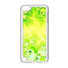 Sunny Spring Frost Fractal Apple iPod Touch 5 Case (White)