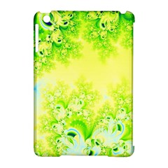 Sunny Spring Frost Fractal Apple iPad Mini Hardshell Case (Compatible with Smart Cover)