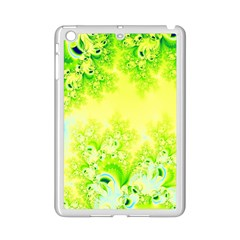 Sunny Spring Frost Fractal Apple iPad Mini 2 Case (White)