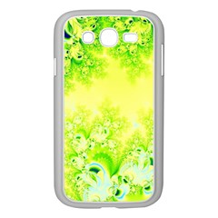 Sunny Spring Frost Fractal Samsung Galaxy Grand DUOS I9082 Case (White)