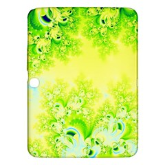 Sunny Spring Frost Fractal Samsung Galaxy Tab 3 (10 1 ) P5200 Hardshell Case