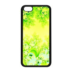 Sunny Spring Frost Fractal Apple Iphone 5c Seamless Case (black)