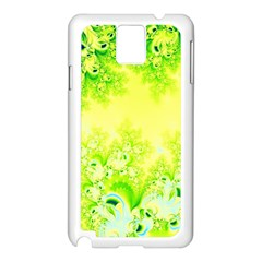 Sunny Spring Frost Fractal Samsung Galaxy Note 3 N9005 Case (White)