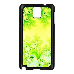 Sunny Spring Frost Fractal Samsung Galaxy Note 3 N9005 Case (Black)