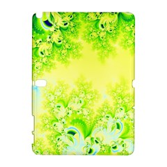 Sunny Spring Frost Fractal Samsung Galaxy Note 10 1 (p600) Hardshell Case