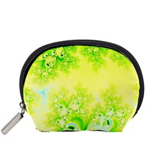 Sunny Spring Frost Fractal Accessory Pouch (Small)