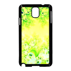 Sunny Spring Frost Fractal Samsung Galaxy Note 3 Neo Hardshell Case (Black)