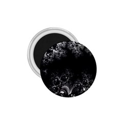 Midnight Frost Fractal 1 75  Button Magnet