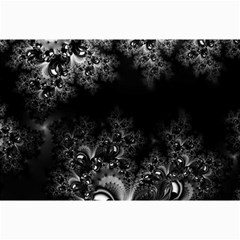 Midnight Frost Fractal Canvas 12  X 18  (unframed)