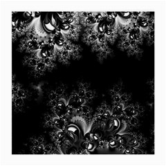 Midnight Frost Fractal Glasses Cloth (medium, Two Sided)
