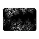 Midnight Frost Fractal Small Door Mat 24 x16 Door Mat - 1