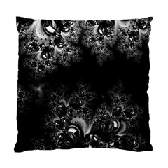 Midnight Frost Fractal Cushion Case (two Sided)