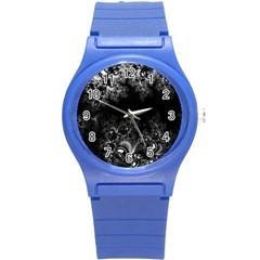 Midnight Frost Fractal Plastic Sport Watch (Small)