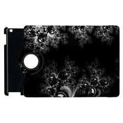 Midnight Frost Fractal Apple iPad 3/4 Flip 360 Case
