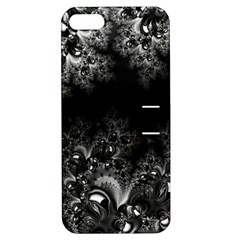 Midnight Frost Fractal Apple Iphone 5 Hardshell Case With Stand
