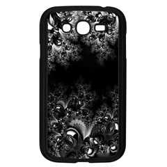 Midnight Frost Fractal Samsung Galaxy Grand DUOS I9082 Case (Black)