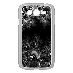 Midnight Frost Fractal Samsung Galaxy Grand Duos I9082 Case (white)